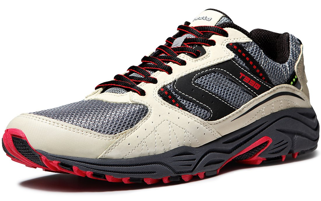 Tesla Men's Outdoor Sneakers Trail Running Shoe T330/T320 B073GGJ5SZ Men 8.5 D(M)|A1-T330-CMR