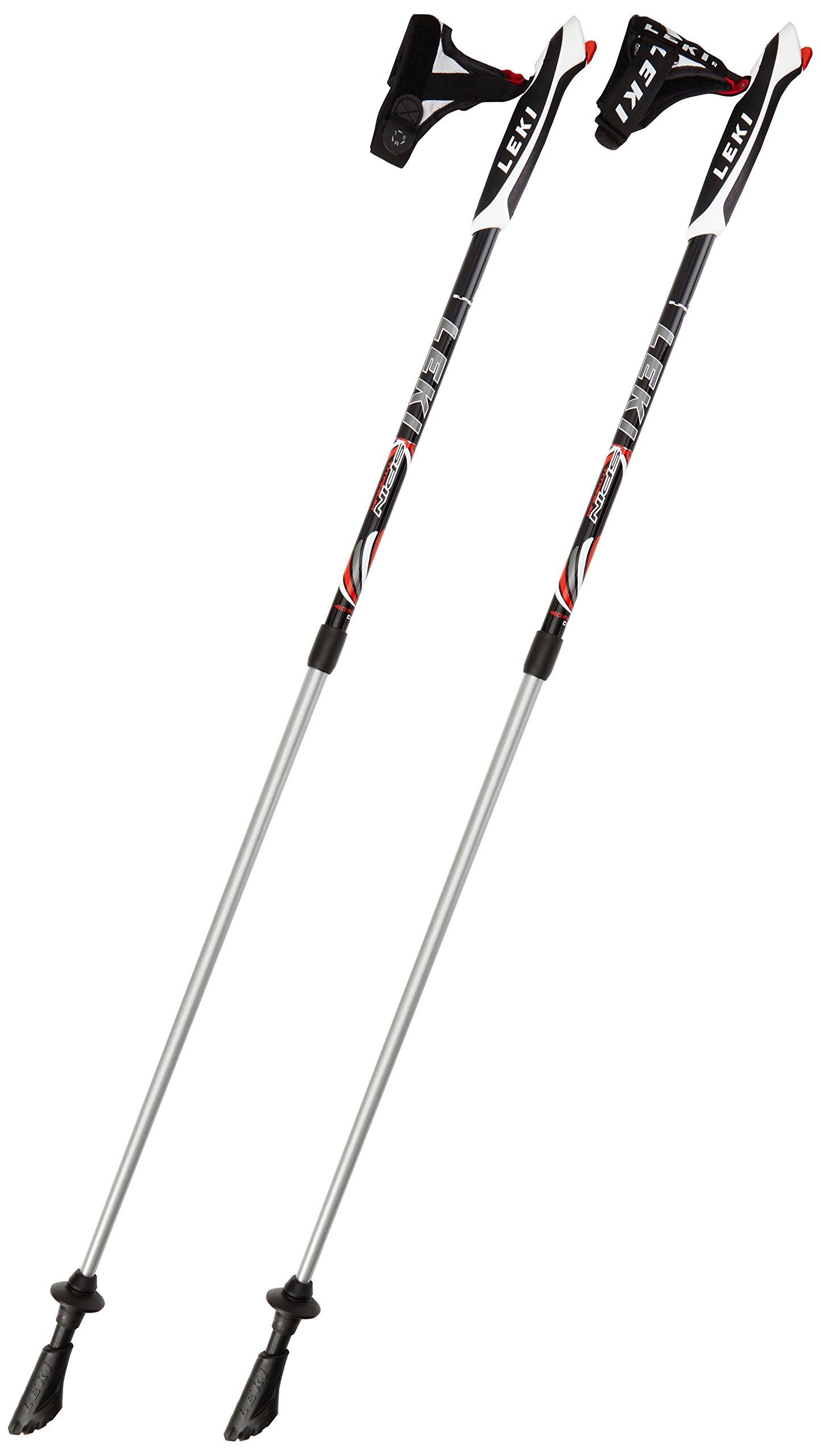 Leki Spin Nordic Walking Stick - Black, 39.3-51.1inch by Leki (Image #1)
