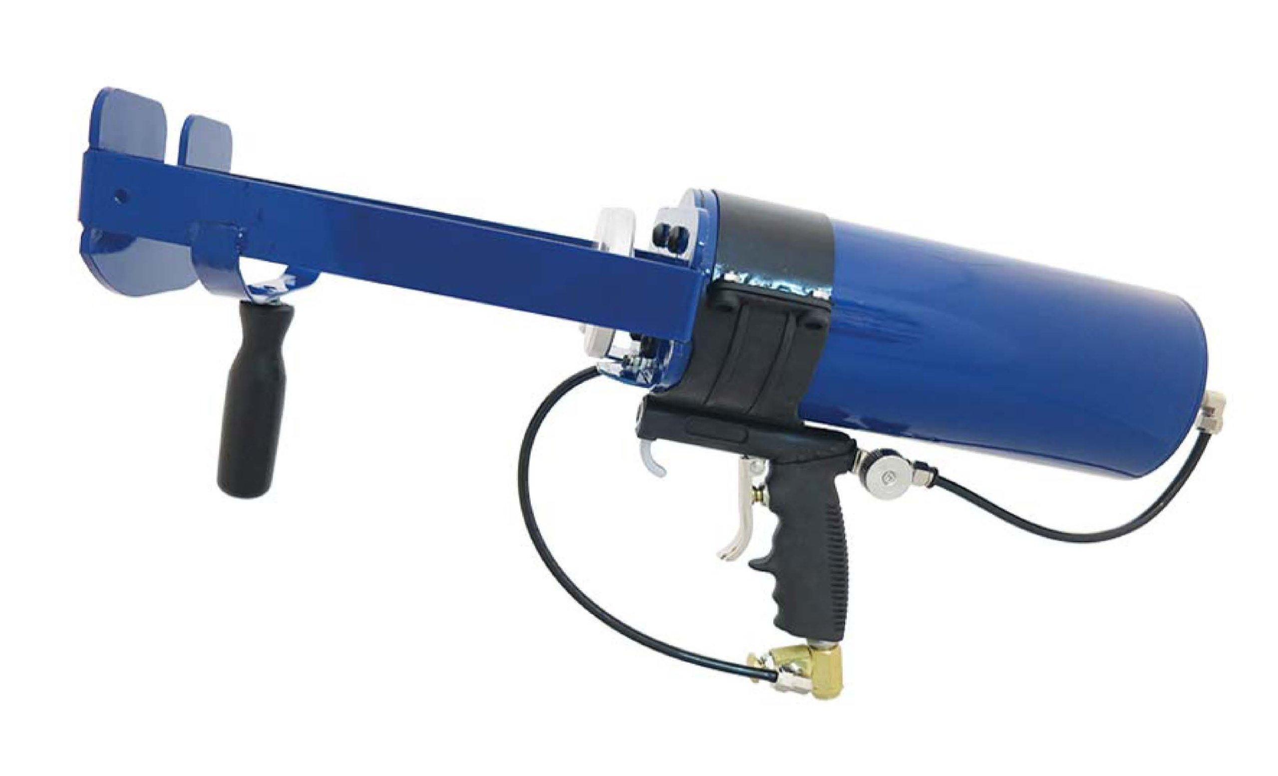 Wellmade Tools AG-401 750ml x 750ml Dual Cartridge Pneumatic Applicator