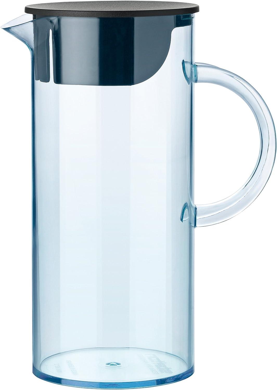 Stelton EM Jug with Lid, 50.7 oz - transparent