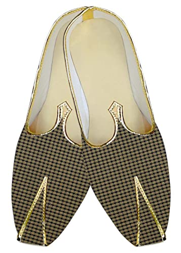 Mens Bronze Poly Viscose Wedding Shoes MJ015675