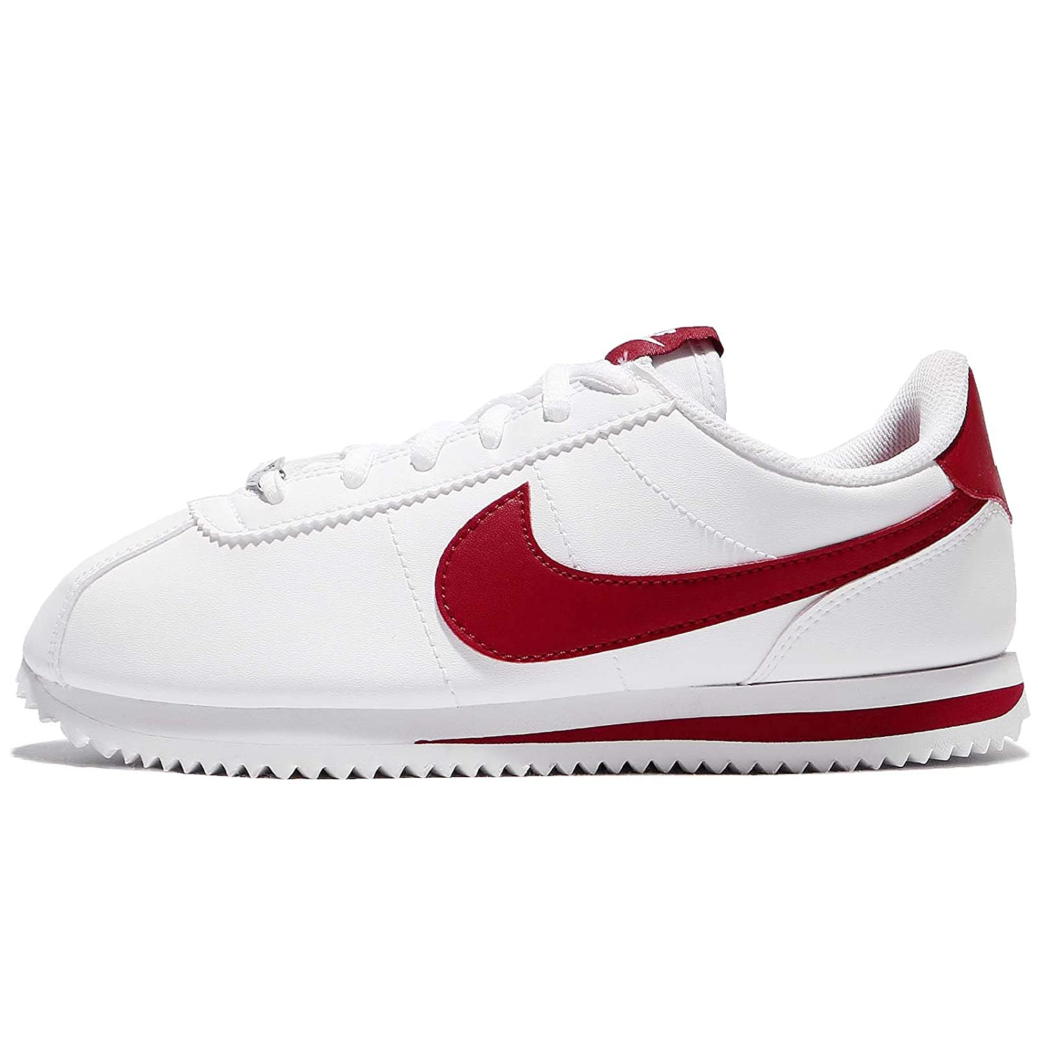 EuAmazon Synthetic Trainers Cortez White Nike Red Youth Basic 39 80wkXNnOPZ