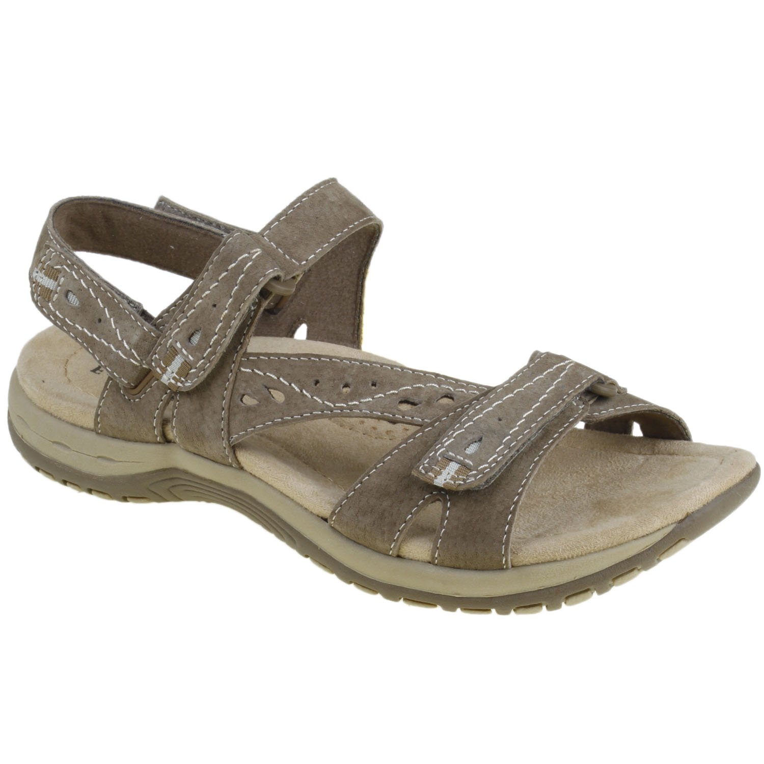 Earth Origins Women's Sophie Sandals B018QTTSF4 7 C US|Sedona Brown
