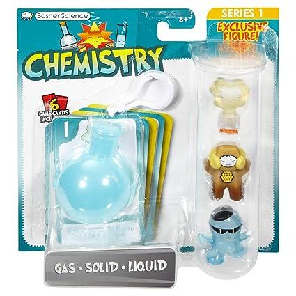 Amazon.com: Basher ciencia química – Gas/sólido/líquido ...