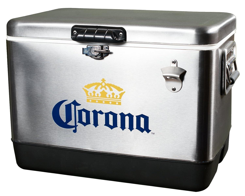 Amazon.com: Corona, enfriador de cerveza en acero inoxidable ...
