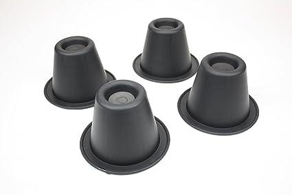 Ability Superstore - Conos para elevar patas de sillas (8.9 cm)