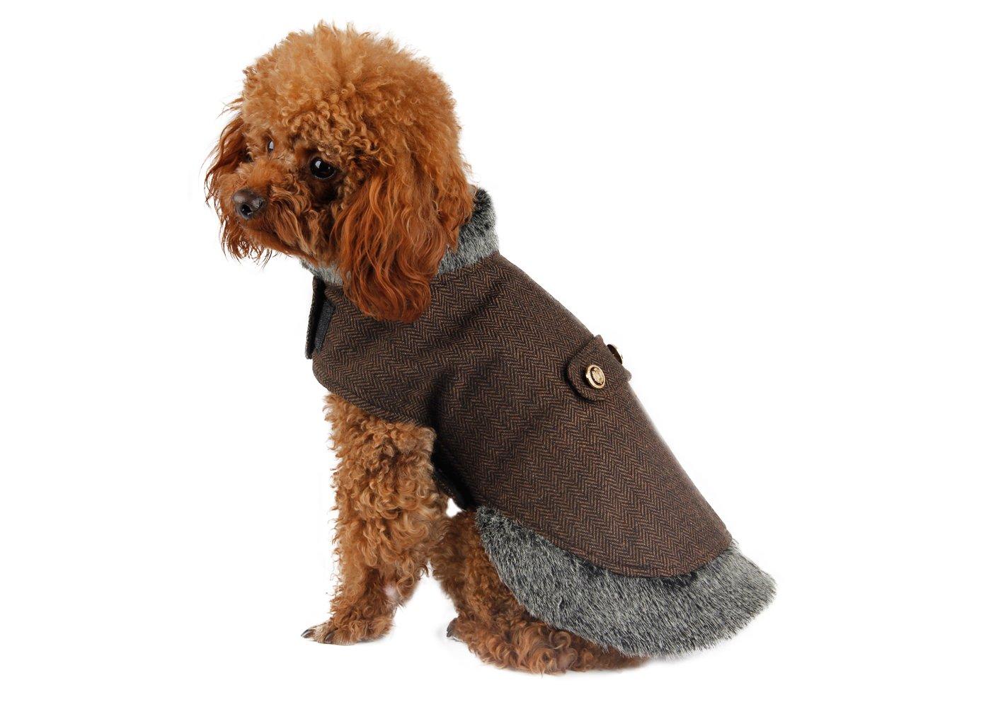 Pawz Road Hunde-Wintermantel Warme Jacke in Vier Farben erhältlich