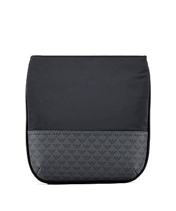 471b8c7f779e Emporio Armani sac homme bandoulière noir  Amazon.fr  Vêtements et  accessoires
