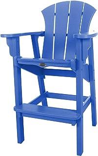 product image for Nags Head Hammocks Sunrise Bar Dining Chair, Blue