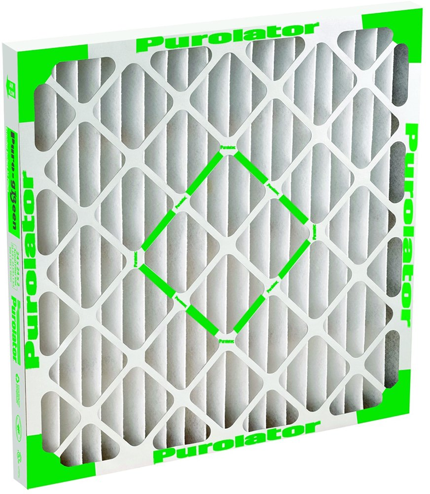 Sterling Seal PR13 24X30X1X6 Purolator Puro Green 13 High Efficiency Filters Height and Width Tolerance is 1 8 Depth is 1 16 Pack of 6