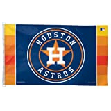 WinCraft MLB Houston Astros Flag, 3 x 5-Feet
