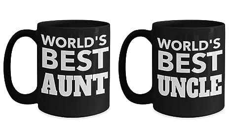 Amazoncom Worlds Best Aunt And Uncle Best Aunt Ever Mug