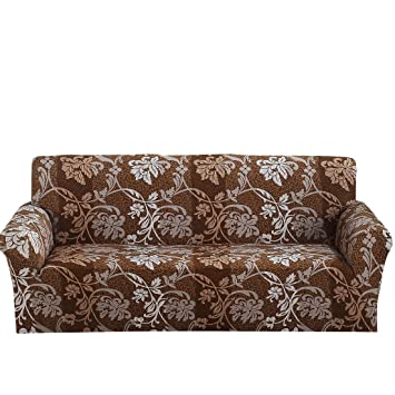 Uxcell Stretch Sofa Slipcover Sofa Covers Chair Covers 3 Seater Protectors Couch  Covers Featuring Soft Form
