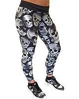 Constantly Varied Gear's Black & White Skull Leggings