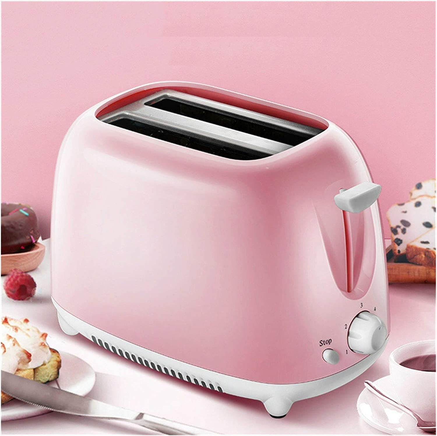 Automatic Electric Toaster 2 Slices Slot Toast Baking Oven Grill Heater Mini Sandwich Breakfast Machine Bread Maker BJY969