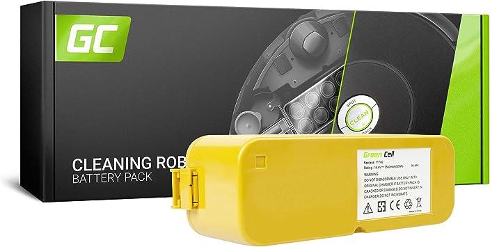 GC® (3.5Ah 14.4V Ni-MH Pile) Batería para iRobot Roomba APS 4905 de Aspirado: Amazon.es: Electrónica