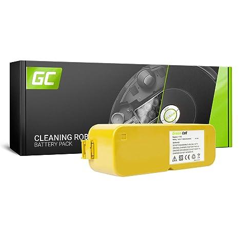 Green Cell® Batería de Aspirador para iRobot Roomba 5210 (Ni-MH celdas 3.5