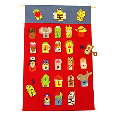 ABC Finger Puppets: Toys & Games