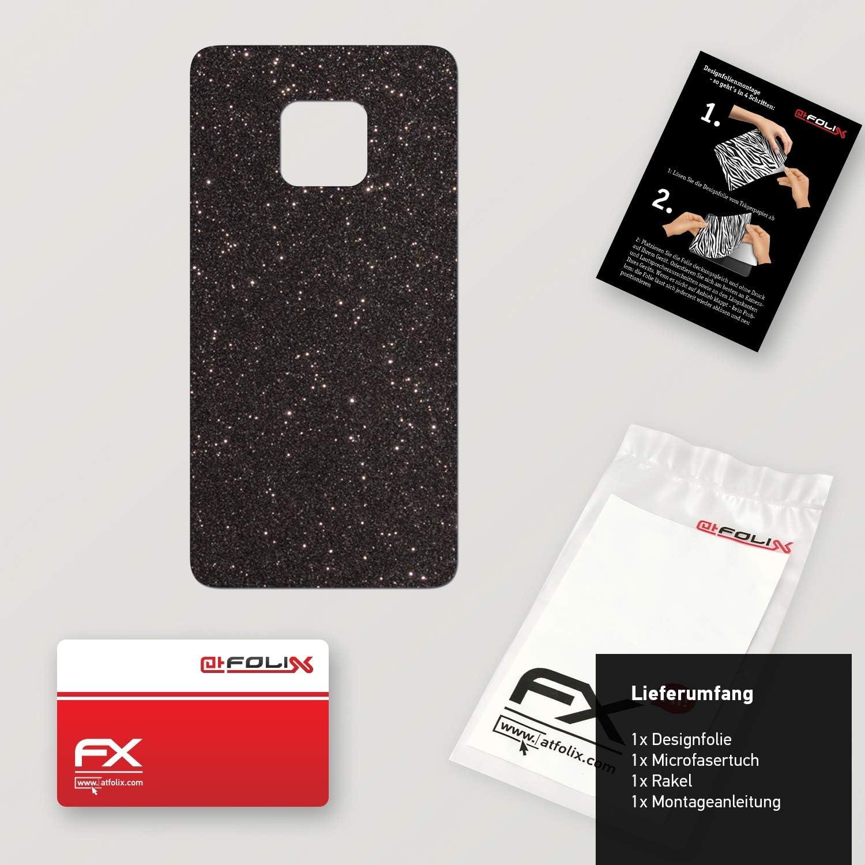 atFoliX Skin Compatible avec Huawei Mate 20 Pro Surface Mate Sticker Autocollant FX-Soft-Olive
