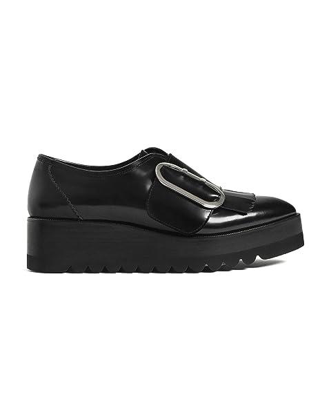 Uterque - Sandalias de vestir de Piel para mujer Negro negro Negro Size: 37: Amazon.es: Zapatos y complementos