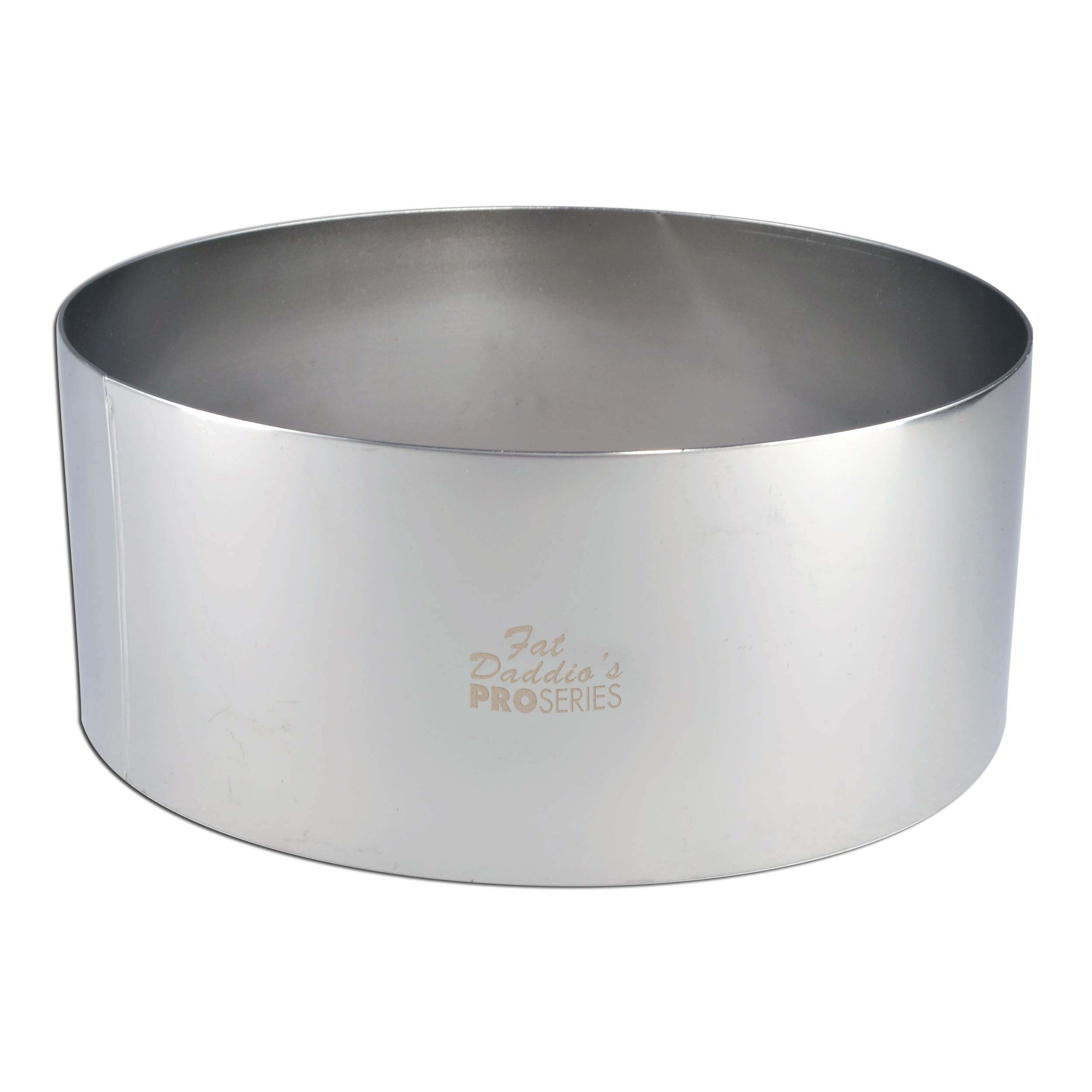 Fat Daddio's Stainless Steel Round Cake and Pastry Ring, 9 Inch x 3 Inch