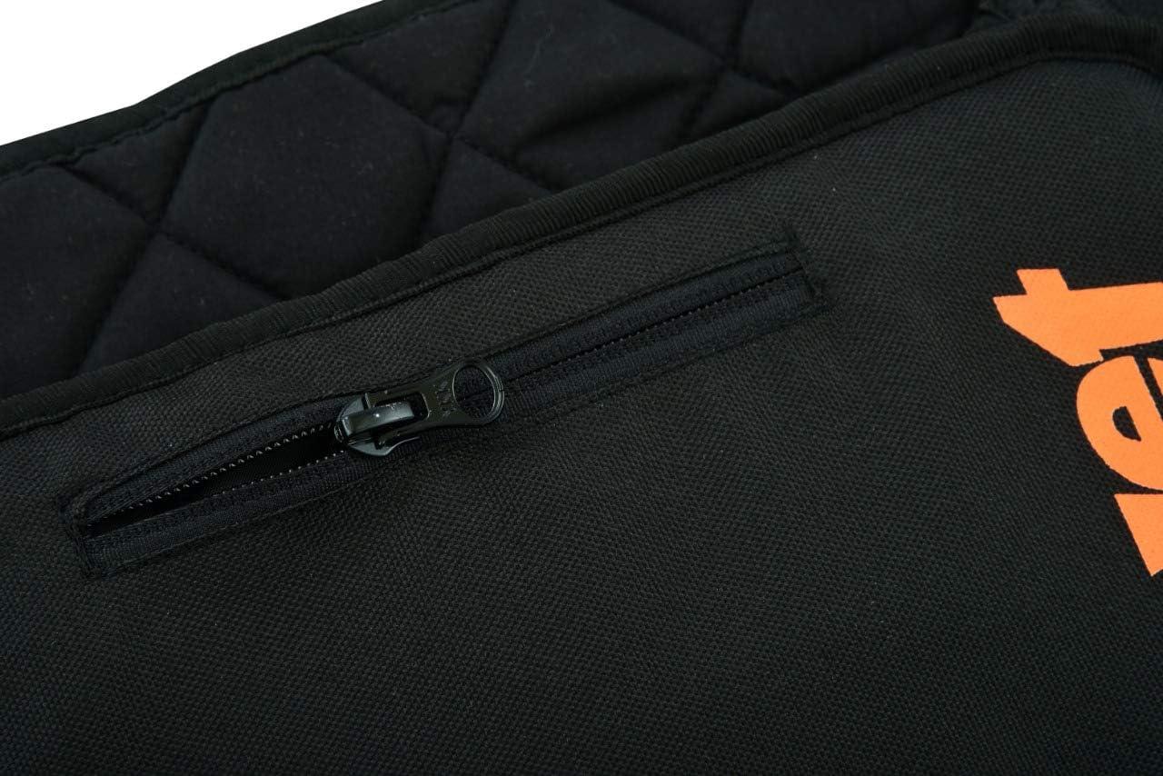 Negro, S JET Moto Cintur/ón de ri/ñon CONTOUR