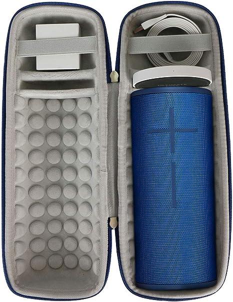 Khanka Hart Tasche Schutzhülle Für Ultimate Ears Ue Megaboom 3 Bluetooth Lautsprecher Case Passt Für Lautsprecher Und Ladestation Für Ue Megaboom 3 Blaue Lagune Elektronik