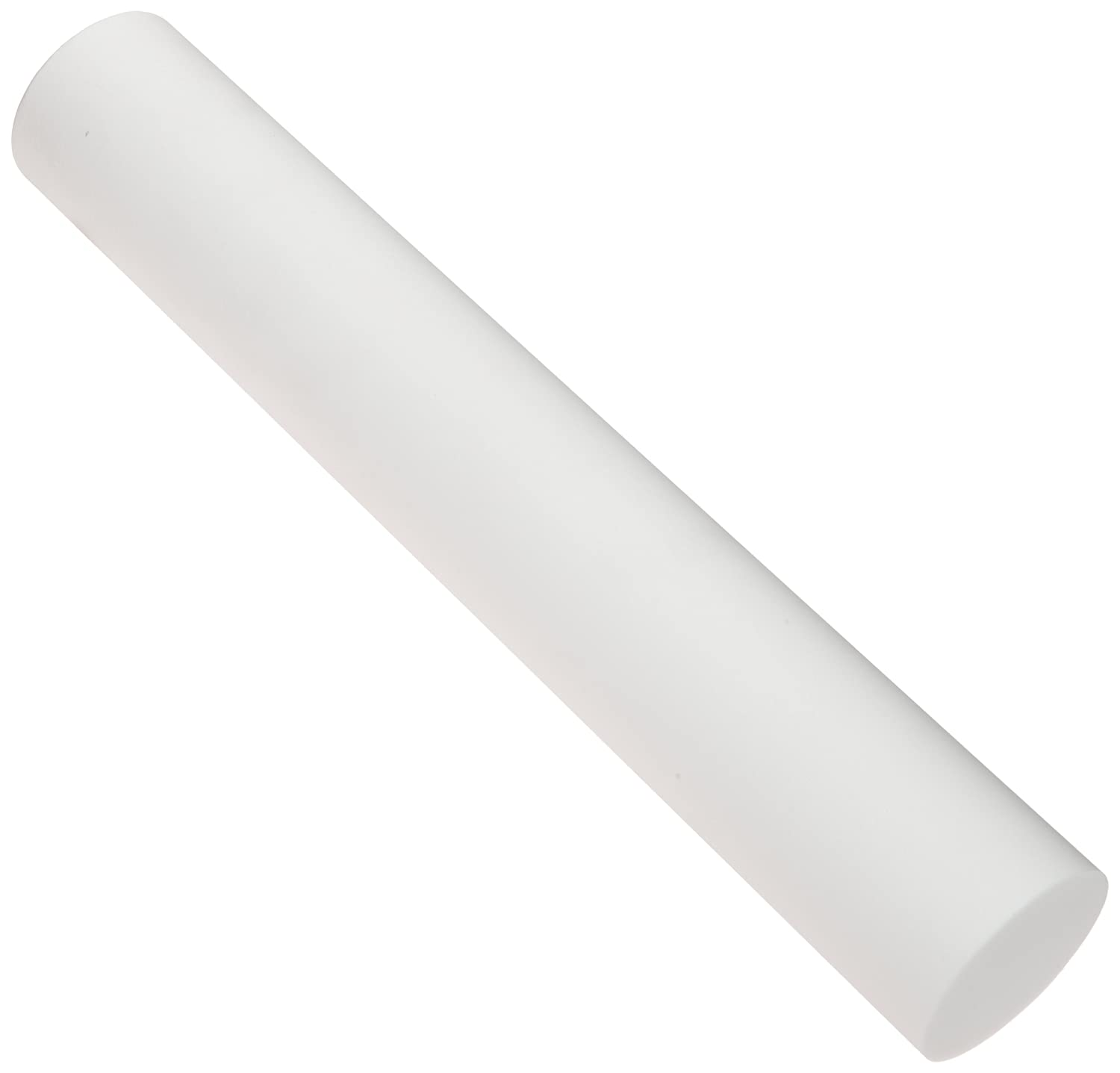 Glass-Mica Ceramic Round Rod, Opaque White, 5/16' Diameter, 3' Length (Pack of 1)