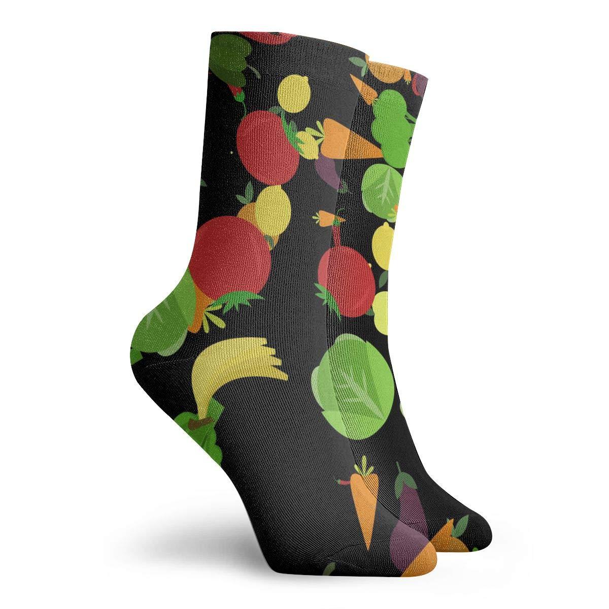 Pattern Unisex Funny Casual Crew Socks Athletic Socks For Boys Girls Kids Teenagers