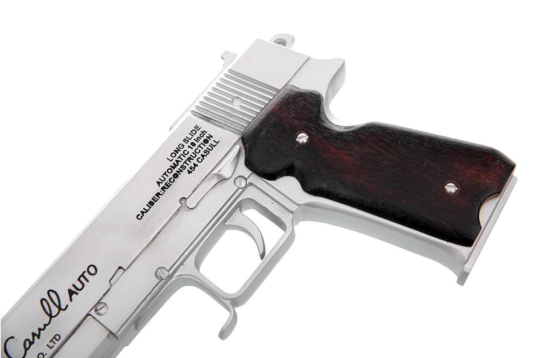 De-Cos Cosplay Accessory Weapon Alucard Weapon Accessory Prop ARMS .454 Casull PVC Toy Gun f598d5
