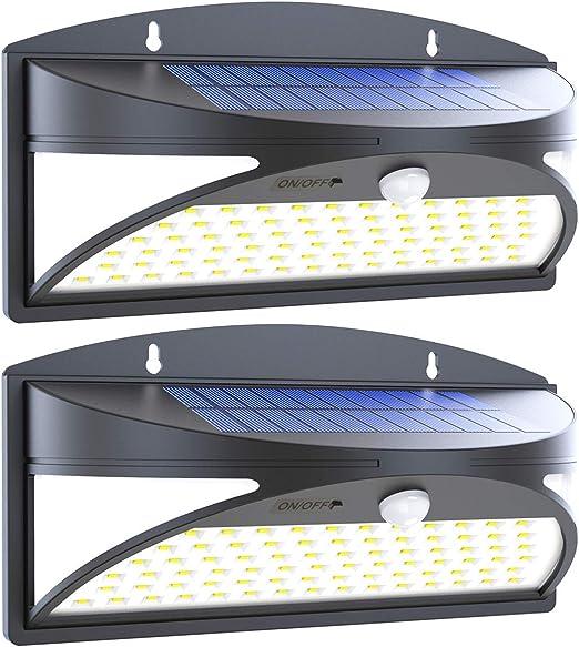 8er Set LED Via Esterno Luci livelli si verifica Illuminazione Balcone lampade muro bianco