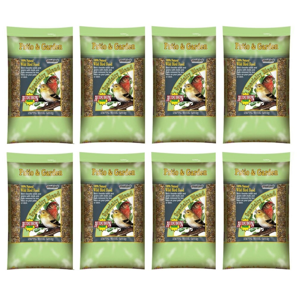 Audubon Park 12238 Patio and Garden Wild Bird Food, 14-Pounds (8 pack) by by Audubon Park
