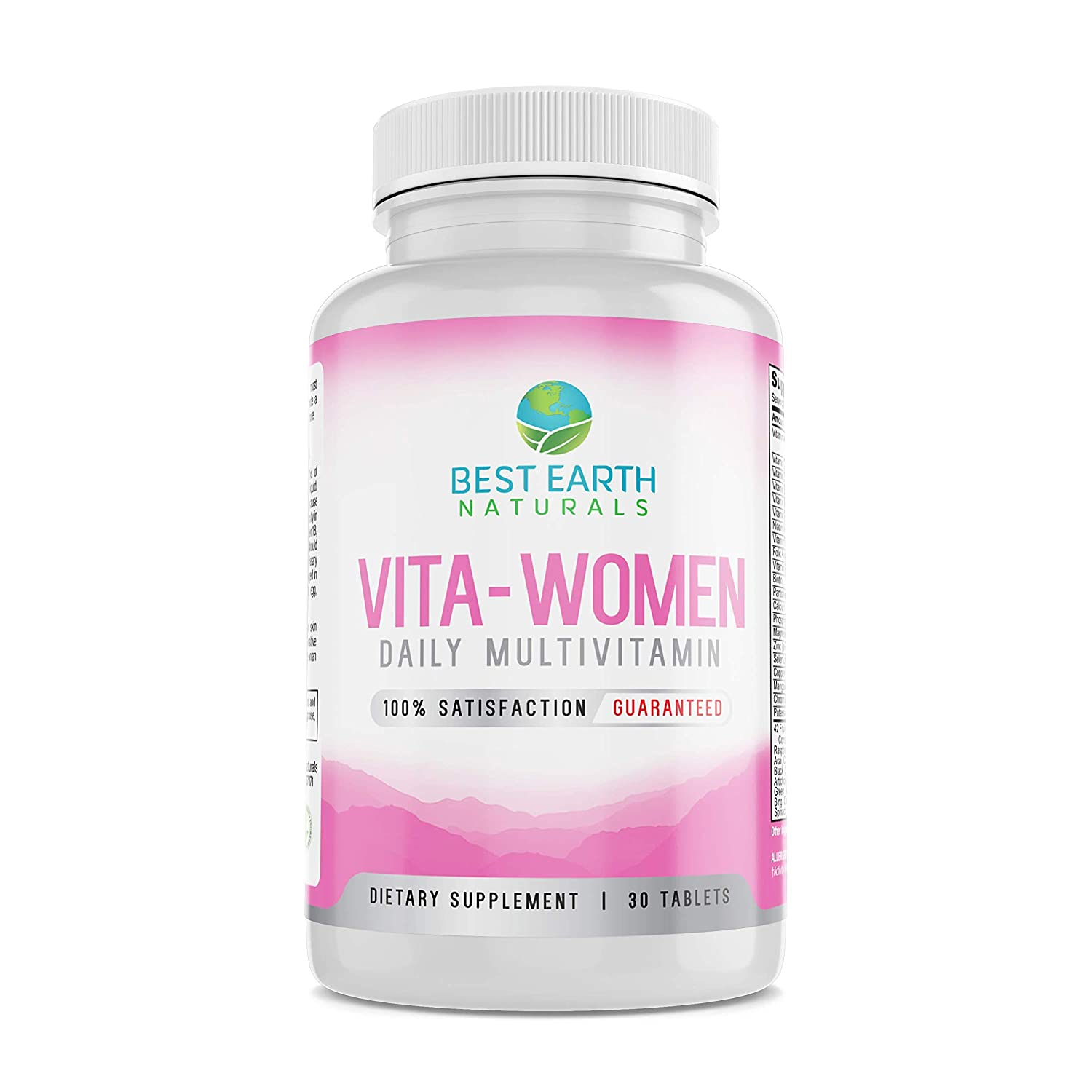 Vita Women Multivitamin Daily Once A Day Multivitamin and Mineral Supplement for Women Rich in Vitamins and Minerals, Antioxidants, Biotin, Zinc, Calcium, Potassium, Enzymes and More