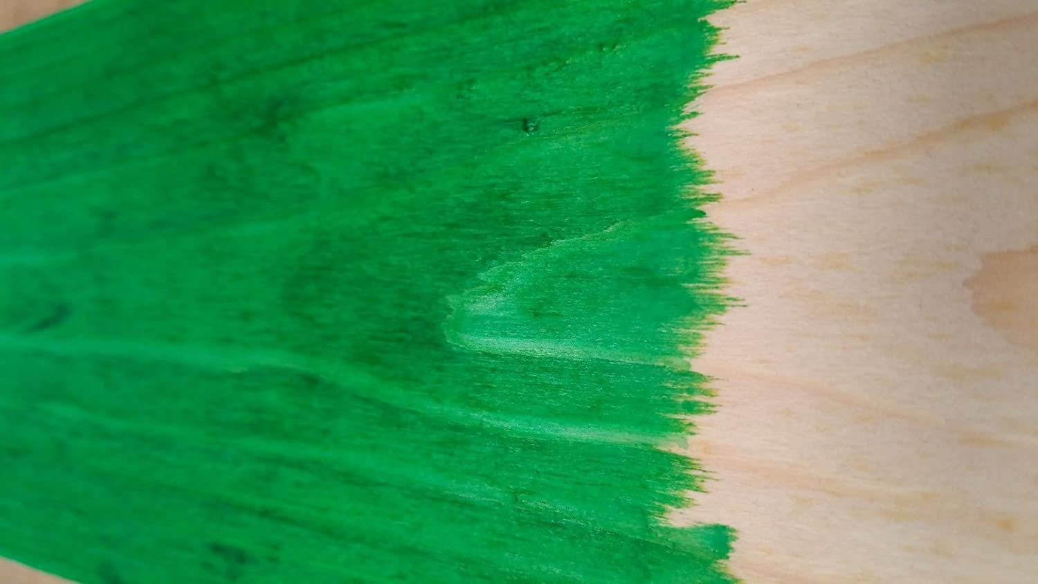 WOOD DYE - Bolgers water based wood stain - environmentally friendly  odourless & VOC free wood stain GREEN 500ml