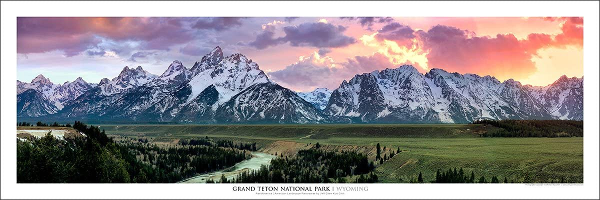Amazon Com Grand Teton National Park Snake River Overlook Wall Art
