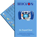 6x Mikvon films screen protector SuperClear for VTech Kidizoom Duo - transparent - Made in Germany (intentionally smaller than the display due to its curved surface)