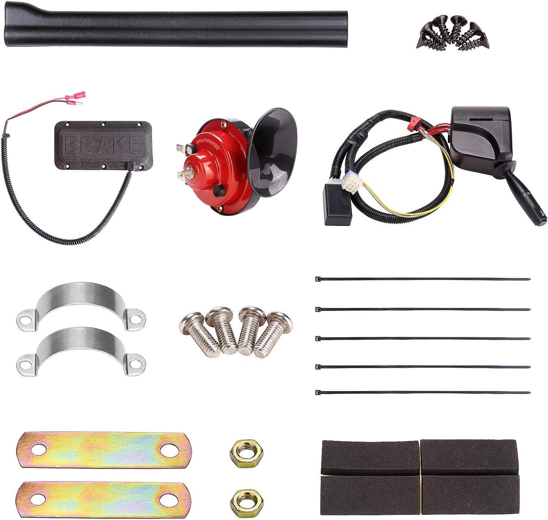 Amazon.com : 10L0L Universal Golf Cart Turn Signal Kit for EZGO RXV TXT,  Yamaha, Club Car DS Precedent, 9-Pin Plug Upgrade Wiring Harness with  Headlight/Hazard Light Switch, Horn, Brake Pad : SportsAmazon.com