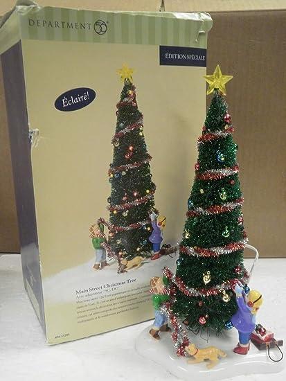 Department 56 Christmas Tree.Amazon Com Department 56 Main Street Christmas Tree
