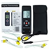 Digital 4 Channels K Type Thermocouple Thermometer