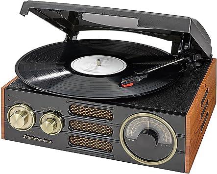 Amazon.com: Studebaker sb6055 estéreo de 3 velocidades ...
