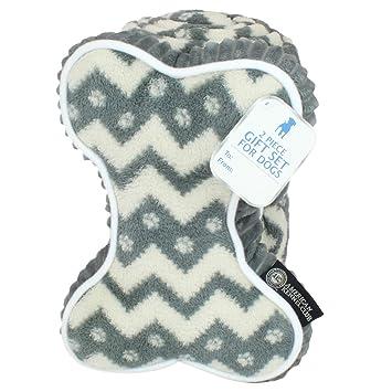 Amazon.com: AKC Manta polar para mascotas y almohada juego ...