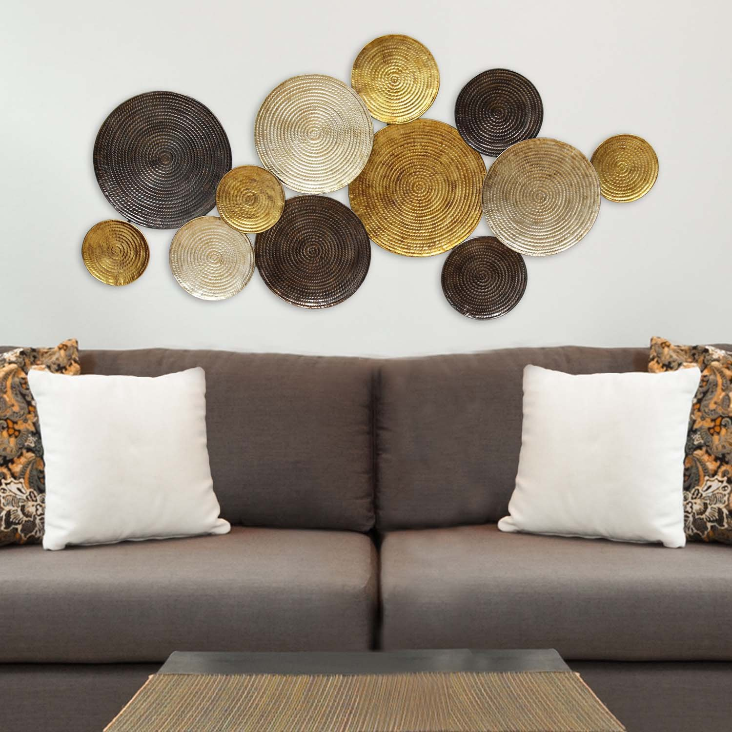 Amazon.com: Stratton Home Decor SHD0067 Multi Circles Wall Decor: Home U0026  Kitchen