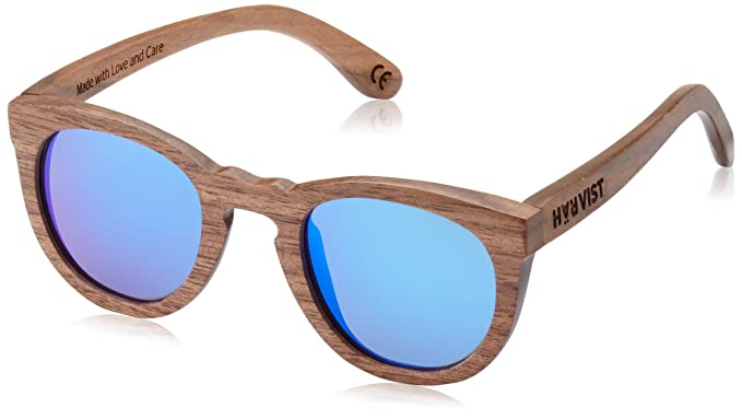 HÄRVIST, Roundwood - Gafas de sol de madera, unisex, color nogal