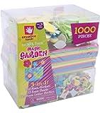 Creative Hands Magic Garden - Confezione di adesivi 3 in 1, multicolore