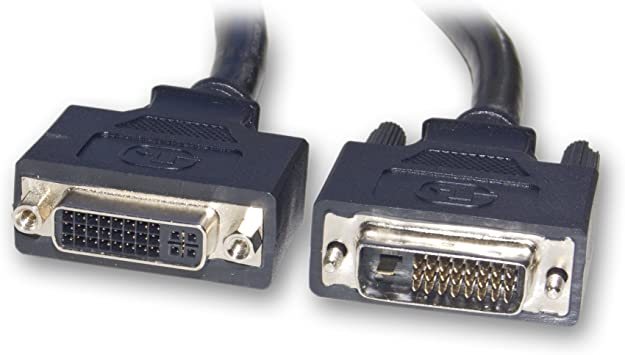 Cable Matters DVI to DVI Extension Cable 6 Feet DVI-D Dual Link Extension Cable