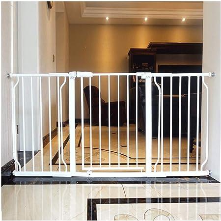 Barrera De Puerta De Seguridad Automático Cerca del Metal Widefireplace Superior O Inferior De Las Escaleras Bebé Puertas Adecuados For La Cocina Escaleras Jardín Baño: Amazon.es: Hogar