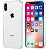 campino iPhone X/XS 対応 ケース 背面ガラス スリム クリア 【正規品】