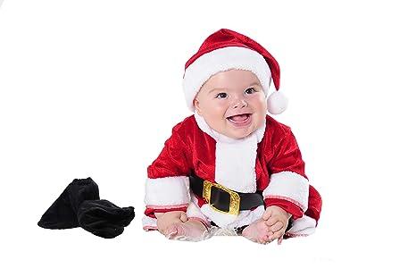 Costumizate! Disfraz de Papa Noel para Bebe Talla de 0 a 6 ...