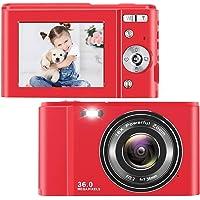 toberto Digital Camera, 1080P HD Vlogging LCD Mini Camera with 16X Zoom 36MP Digital Point and Shoot Camera Video Camera…