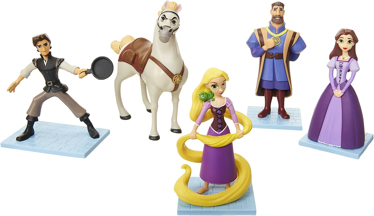 Disney Tangled The Series Figure Set OFFICIAL NEW Collection Toys